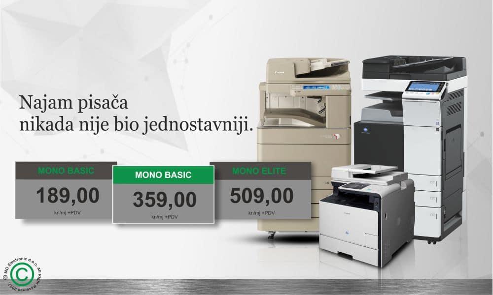 MG Electronic doo Najam printera i fotokopirnih uređaja