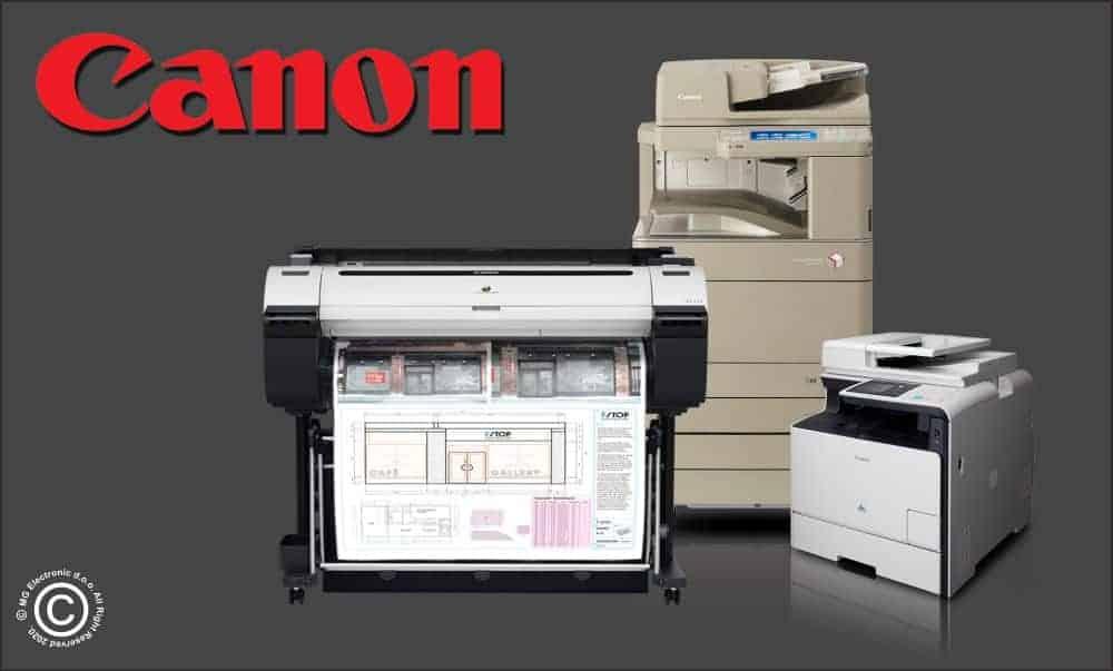 Canon Asortiman Printeri Ploteri Skeneri - © All Rights Reserved M.G. Electronic d.o.o. 2020.