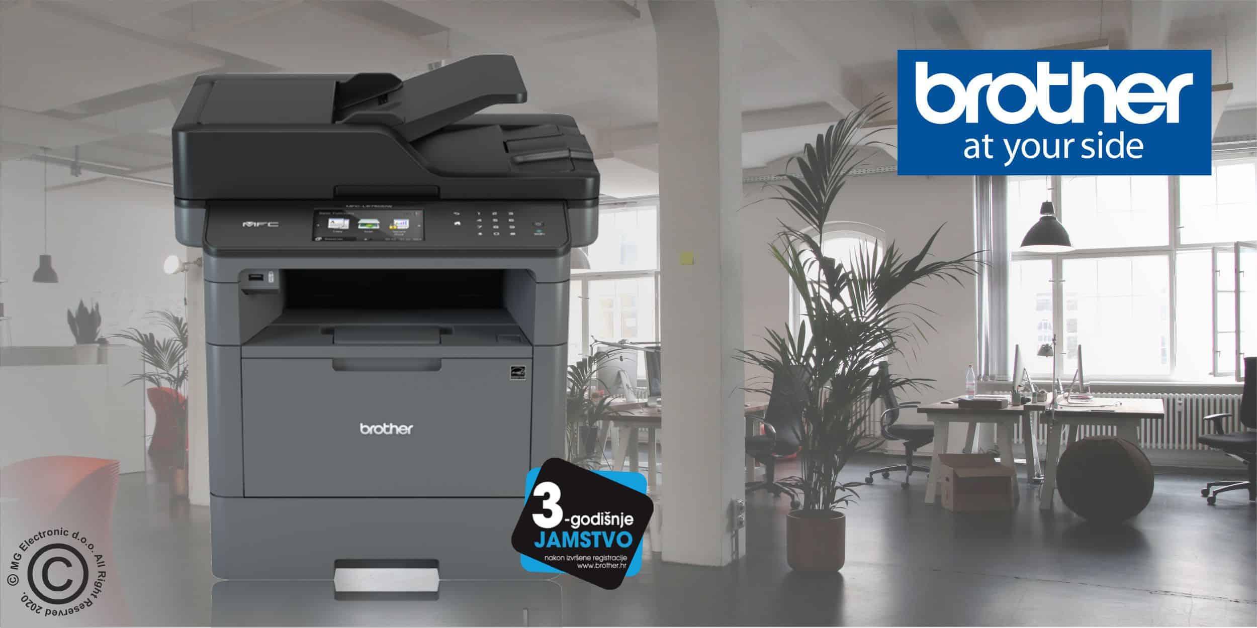 Brother Laserski printeri i višenamjenski uređaji © All Rights Reserved M.G. Electronic d.o.o. 2020.