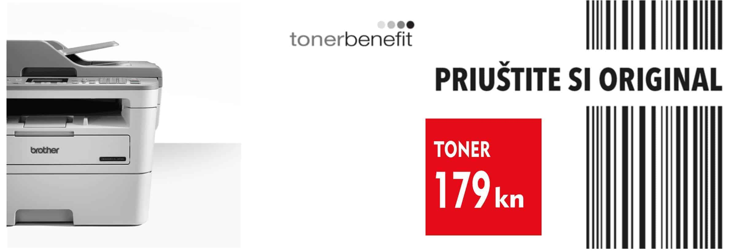 Brother TonerBenefit serija 179kn originalni toner MFC-B7715DW © All Rights Reserved M.G. Electronic d.o.o. 2020.
