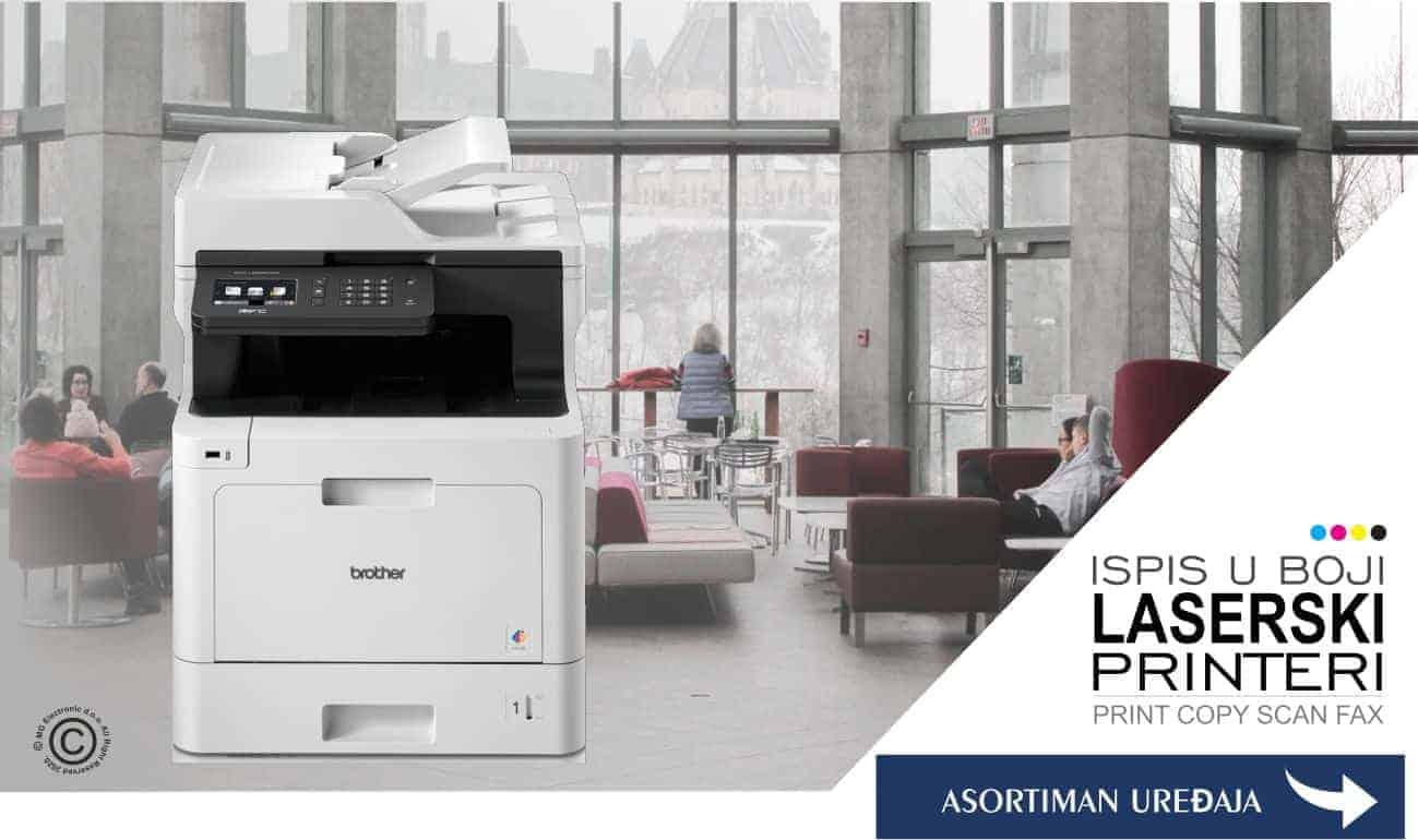 BROTHER Laserski printeri i višenamjenski u boji MG Electronic d.o.o. © All Rights Reserved M.G. Electronic d.o.o. 2020.